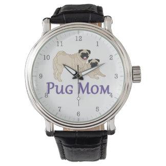 Pug Modieus Pugs van Fawn van het Paar van het Horloge