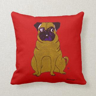 Pug Patrick American MoJo Pillow Sierkussen
