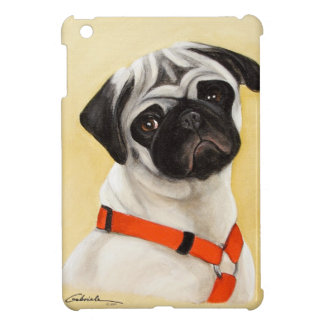 Pug van Fawn Hoesje Voor iPad Mini