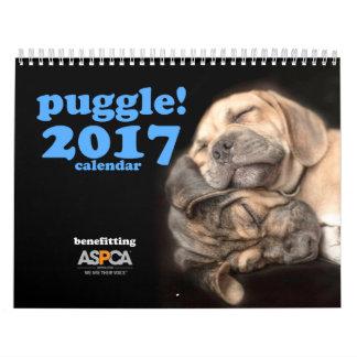 Puggle! 2017 Kalender