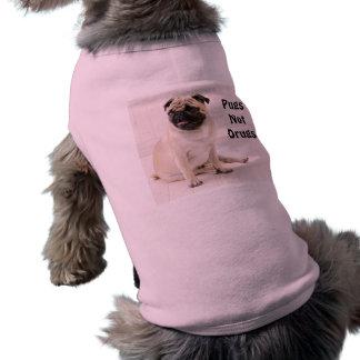 Pugs niet de Geribbelde Tank van Doggie van Drugs Shirt