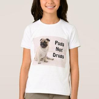 Pugs niet de T-shirt van de Jeugd van Drugs