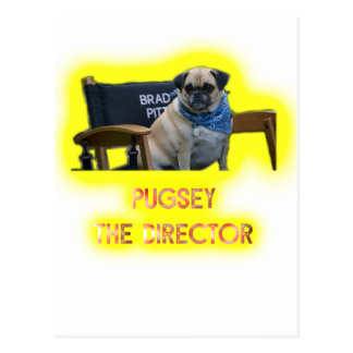 Pugsley de Directeur Briefkaart
