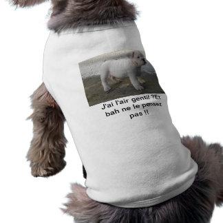 Pullover voor Engelse Bulldog (humor) Mouwloos Hondenshirt
