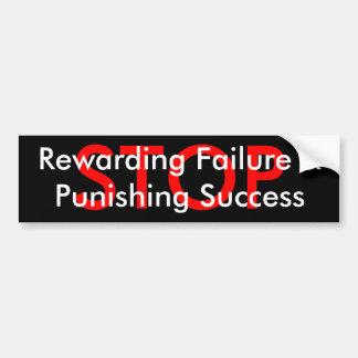 &Punishing Succes van de Mislukking van het EINDE  Bumpersticker