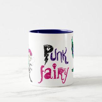 Punk Fee Tweekleurige Koffiemok
