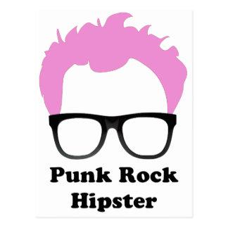 Punk rock Hipster Briefkaart