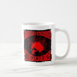 punk rock muziek koffiemok