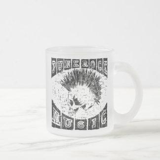 punk rock muziek matglas koffiemok