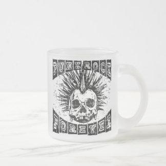 punk rock voor altijd matglas koffiemok