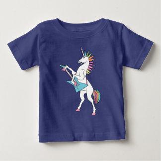 punk-rots-eenhoorn-spelen-gitaar-overhemd baby t shirts