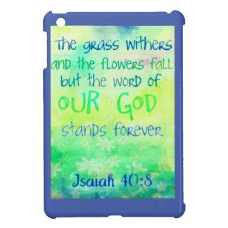 Punten met kleurrijk scriptureontwerp iPad mini covers