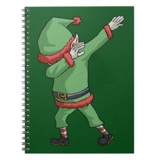 Punten van de Gift van Kerstmis van de Nieuwigheid Notitieboek
