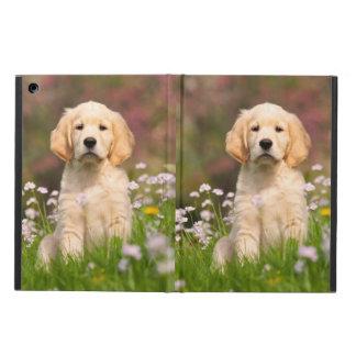 Puppy Goldie van de Hond van het golden retriever iPad Air Hoesje