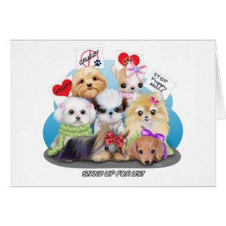 Puppy Manisfesction Briefkaarten 0