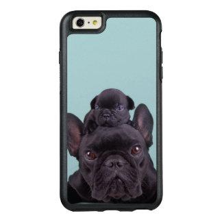 Puppy op het Hoofd van Zijn Moeder OtterBox iPhone 6/6s Plus Hoesje