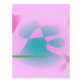 Purperachtig Roze Gepersonaliseerde Folder