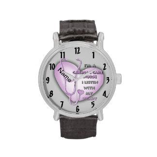 Purple Cardiac Care Nurse Watch