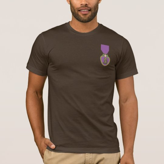 Purple Heart United States military decoration. T Shirt