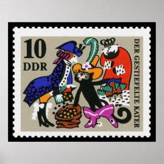 Puss in Laarzen 10 Ddr 1968 Poster