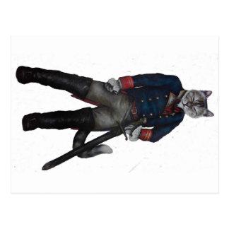 Puss in Laarzen! Briefkaart