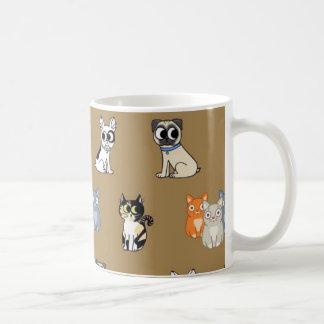Pussycat en Van een hond Mok