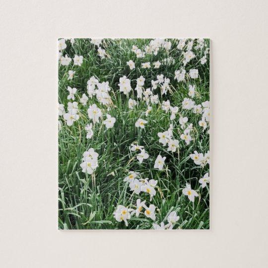 """Puzzel """"Bloemen in het veld"""". Legpuzzel"""