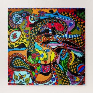Puzzel Happy-Art Legpuzzel