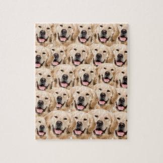 Puzzel van de Honden van de Retrievers van de Puzzel
