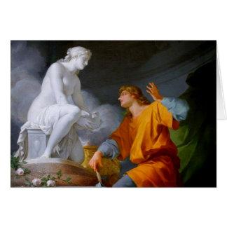 Pygmalión (Griekse Mythologie - Galathea) ~ Kaart