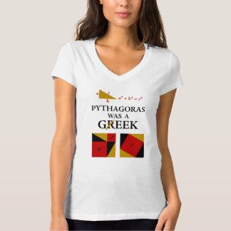 Pythagoras was een T-shirt Geek