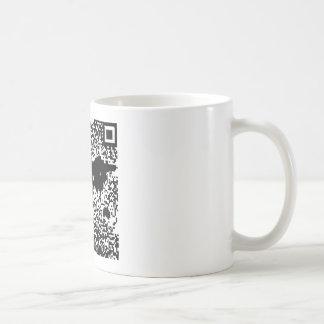QR code - de Wereld Koffiemok