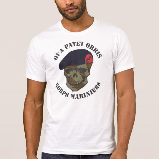 Qua Patet Orbis, Korps Mariniers T Shirt