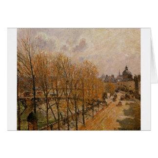 Quai Malaquais, Ochtend door Camille Pissarro Kaart