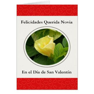Querida Novia Engels San Valentin Briefkaarten 0