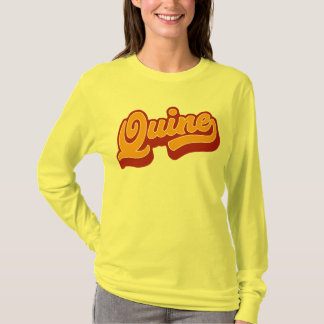 Quine, het Dorische Overhemd van het T-shirt van