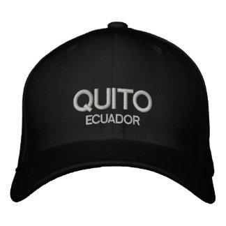 quito Ecuador personaliseerde Regelbaar Pet Petten 0