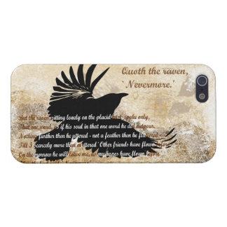 Quoth de Raaf Nevermore Edgar Allan Poe iphone5 iPhone 5 Cover