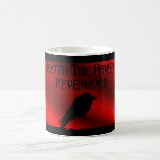 Quoth de Raaf… overvalt Nevermore Koffiemok