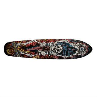 Raad van de Kaak van de schedel eet de Punk SK8 la Skateboard Deck