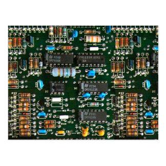 Raad van de Kring van de computer de Elektronika Briefkaart