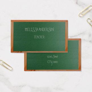 raads leraar visitekaartjes