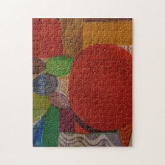 raadsel 11x14 met abstract ontwerp puzzel