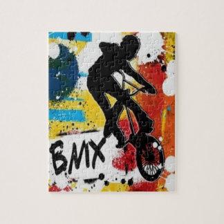 Raadsel BMX met de Doos van de Gift Legpuzzel