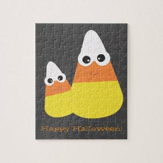 Raadsel | van Halloween Themed het Graan van het Puzzel