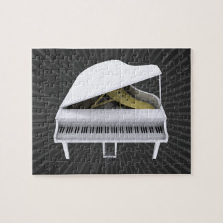 Raadsel: Witte Grote Piano Puzzel