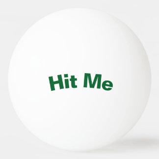 Raak me de Bal van de Pingpong Pingpongbal