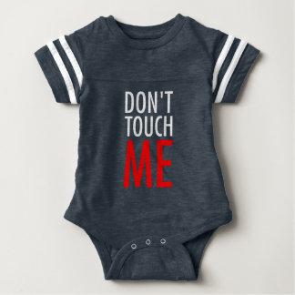 Raak me niet baby bodysuit
