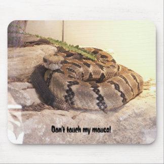 Raak mijn muis niet! muismatten