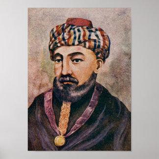 Rabijn Mozes Maimonides - Rambam Poster